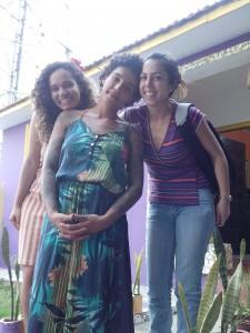 Bianca Pedrina, Jéssica Moreira e Manoela Gonçalves