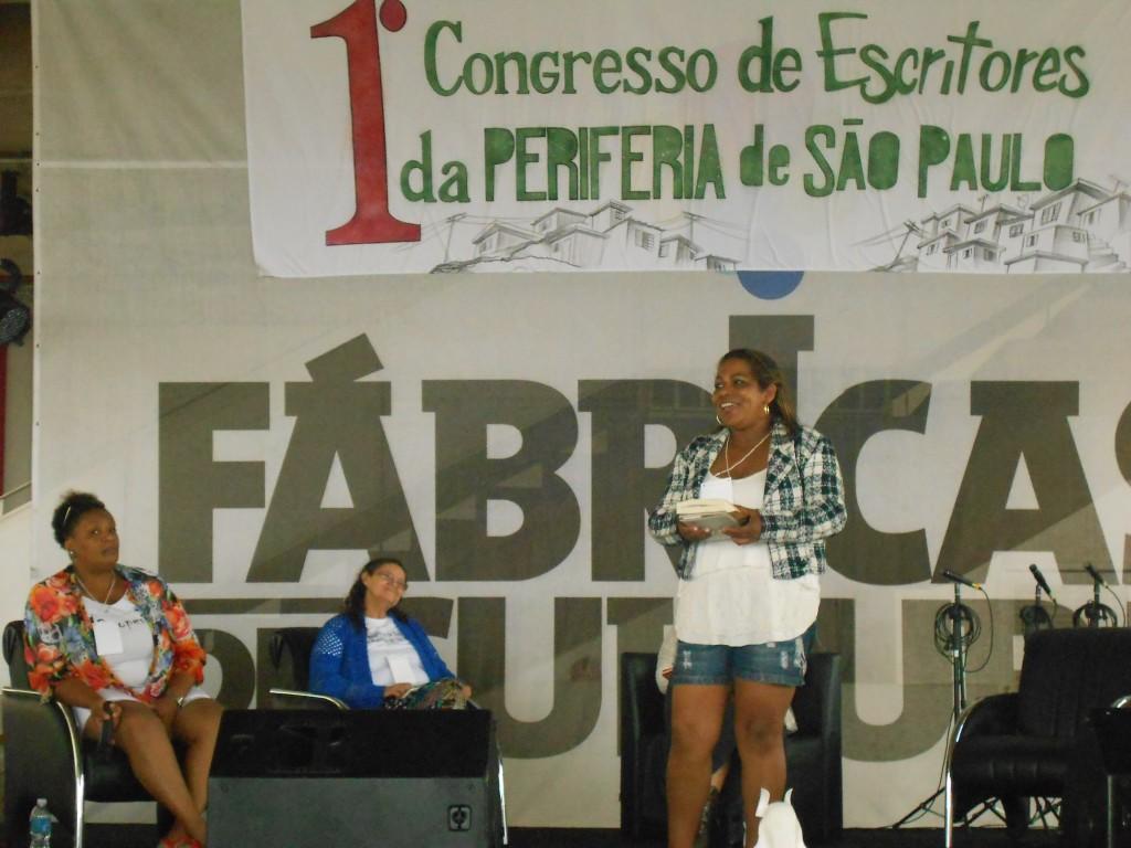 1ª Edição do Congresso de Escritores Periféricos, em 2014.