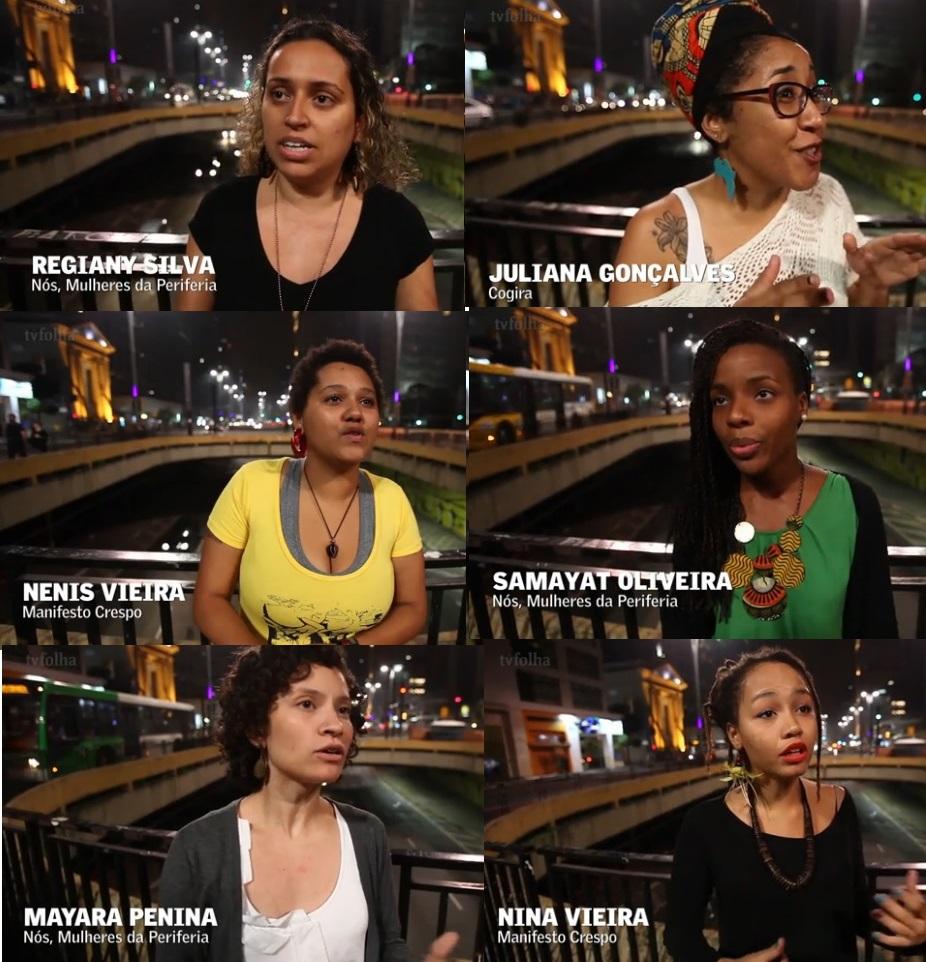 Representantes do Nós mulheres da periferia, Manifesto Crespo e Cojira