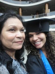 Jéssica e sua mãe Luzia