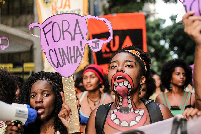Mulheres Contra Cunha #2 • 2015/11/12 • Rio de Janeiro - RJ - Mídia Nija - Flickr