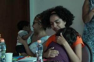 Mãe na organização da marcha das Mulheres Negras/Semayat Oliveira