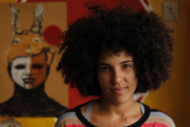 """Mnaoela Gonçalves, idealizadora da Casa das Crioulas (Perus), uma das entrevistadas e produtoras da Exposição """"quem somos [por nós]"""""""