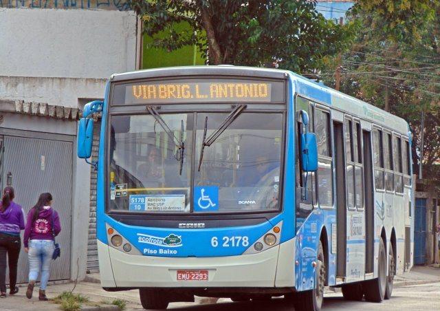 Linha 5178/10, que faz o trajeto Jd. miriam - Pca João Mendes - Jd Miriam | Divulgação