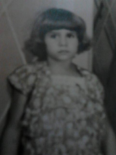 Luzia Aparecida quando criança | Arquivo pessoal