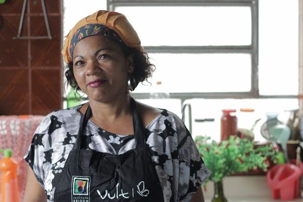 Virginia, empreendedora de Poá, região metropolitana de São Paulo.