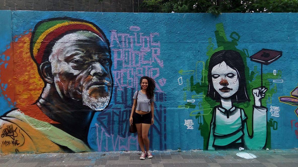 Jéssica, em Perus | crédito: arquivo pessoal