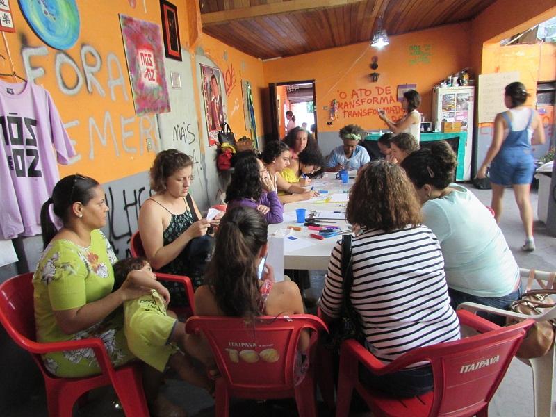 Sede do Coletivo Nós de OZ promoverá debate sobre feminismo (Créditos: Ariane Gomes)