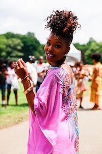 Gia Lowe, uma das fundadoras do evento / Foto de Maria Ribeiro
