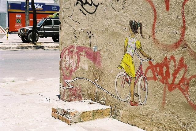 Garota na Bicicleta   Créditos: rolvr_comp  Flickr