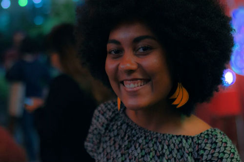 A estudante Thallita Floripes | Crédito: arquivo pessoal.