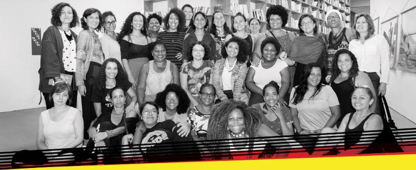 Imagem com todas as mulheres que compõem o WOW Festival Mulheres do Mundo no RJ